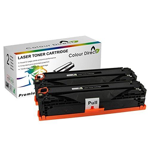 2 X Colour Direct CE285A 85A Nero Compatibile Cartuccia Toner Sostituzione Per HP LaserJet P1102 P1102w M1130 M1132mfp M1134 M1136mfp M1212nf P1100 M1212NF