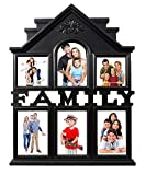 Sweet Home Family Photo Frame 6 in 1 Black (4x6 inch-4 & 4x4 inch-2)