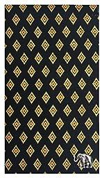 Check Registers Black & Gold Thai Designed Cotton Guest Check Presenter, Check Holder for Restaurant, Check Book Cover, Waitstaff Organizer, Restaurant Server Book, Check Accessories (With Plastic Cover)