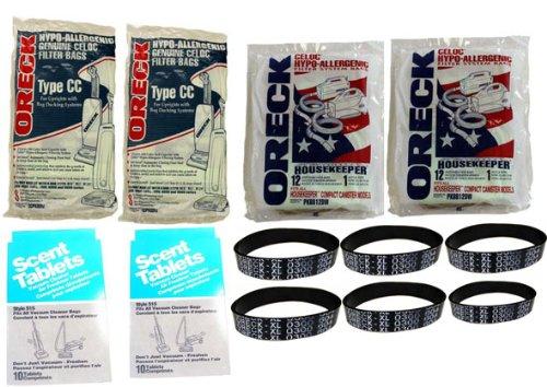 Oreck Vacuum Cleaner Belts front-235599