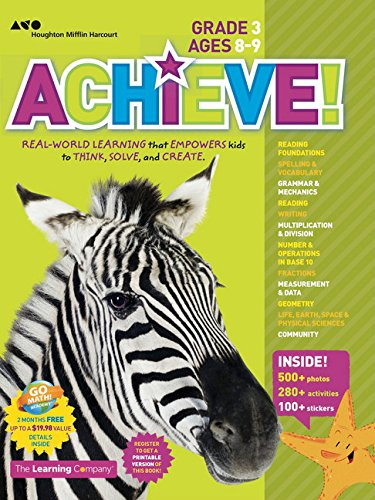 Achieve! Grade 3: Think. Play. Achieve!