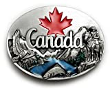 Canada Belt Buckle Canadian Maple Leaf