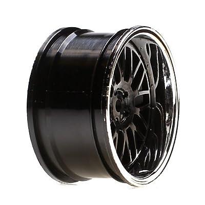 Vaterra 43004 Wheel RR 54 x 30mm Deep Mesh chrome/Blk (2): V100