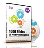 1000 Deluxe 3D Powerpoint Templates, Slides and Charts - Modern Presentations for Business, Companies, Communication, Marketing, Manager, Salesman, Sales, Toastmasters, Entrepreneurs, Consultants, CEOs, Teams, Speakers Etc. - Real product no Download-Link