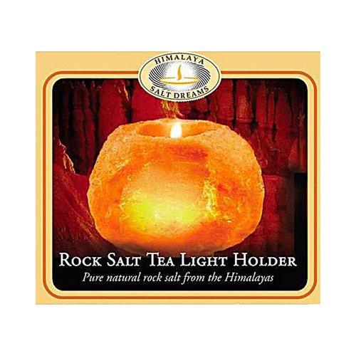 Aloha Bay Himalayan Salt Tea Light Holder -- 1 Candle