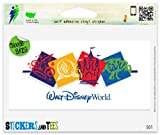 Walt Disney World Vinyl Car Bumper Window Sticker 6 x 3