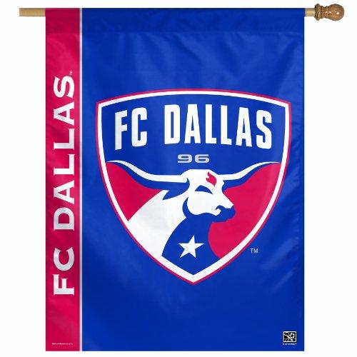 Mls Fc Dallas 27-By-37 Inch Vertical Flag