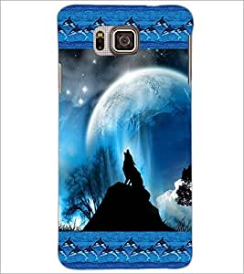 PrintDhaba Scenery D-4121 Back Case Cover for SAMSUNG GALAXY ALPHA (Multi-Coloured)