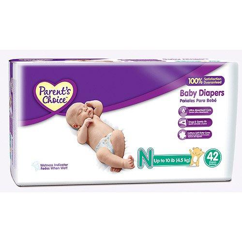 Parent\'S Choice - Diapers (Sizes Newborn)