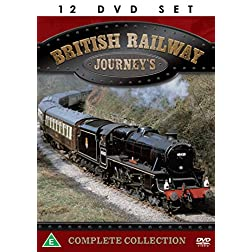 British Railway Journeys - The Complete Collection - 12 DVD BOXSET