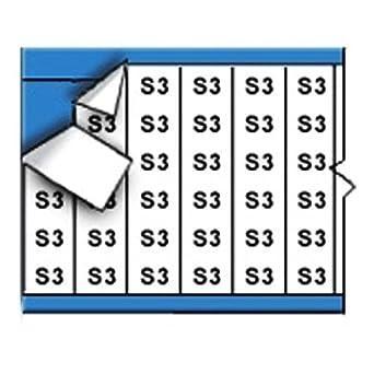 números de tarjetas de alambre marcador (25) Tarjetas Sólidos