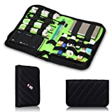 Damai Portable Universal Electronics Accessories Travel Organizer / Hard Drive Case / Cable Organiser / Baby Healthcare & Grooming Kit-3 Size (Medium)