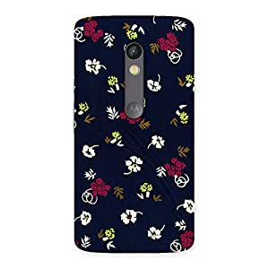 Ajay Enterprises Simple flower design Back Case Cover for Moto X Play