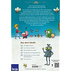 Ritter Rost: Das große Ritter Rost Buch: Buch mit CD