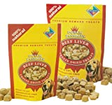 Pet Goods Pooch Passions Freeze-Dried Beef Liver Dog Treats, 21 Ounces