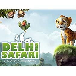 Delhi Safari (2012) (Hindi Movie / Bollywood Film / Indian Cinema DVD)