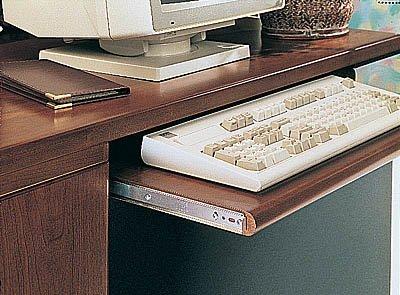 KV Keyboard Slide Variable Height 14 75lb Load Rating AnochromeB0006FKVOE
