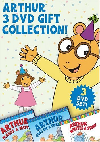 Arthur 3 Dvd Gift Collection [Region 1] [US Import] [NTSC]