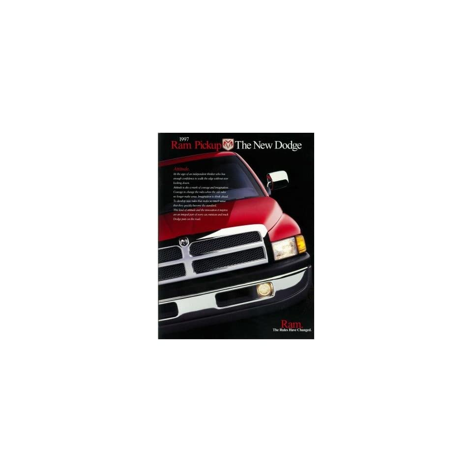 1997 Dodge Ram Pickup Truck Sales Brochure Literature Book Options Specification