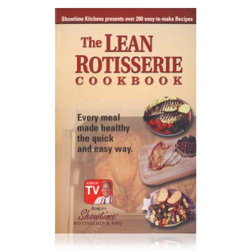 Ronco Lean Rotisserie Cookbook
