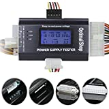 """Optimal Shop 20/24 4/6/8 PIN 1.8"""" LCD Computer PC Power Supply Tester For SATA,IDE,HDD,ATX,ITX,BYI Connectors"""