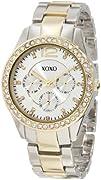 XOXO Womens XO5478 Metal and Rhinestones Watch