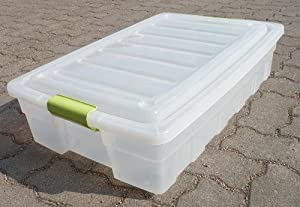 mq unterbettkommode rollbox rollen box unterbettbox griffe stapelbar neu k che. Black Bedroom Furniture Sets. Home Design Ideas