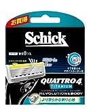 シック クアトロ4 チタニウム レボリューション 替刃 8個入