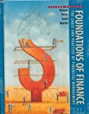 Foundations of Finance: The Logic and Practice of Financial Management (0139167196) by Petty, J.