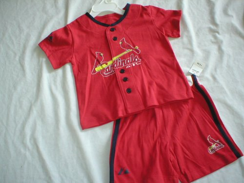 St. Louis Cardinals Toddler Jersey and Shorts - Buy St. Louis Cardinals Toddler Jersey and Shorts - Purchase St. Louis Cardinals Toddler Jersey and Shorts (Majestic, Majestic Boys Shirts, Apparel, Departments, Kids & Baby, Boys, Shirts, Boys Shirts)