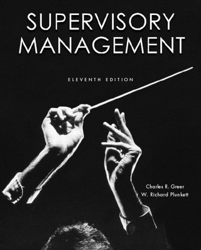 Supervisory Management (11th Edition)