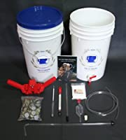 Home Beer Brewing Equipment Kit with Traditional Wheat Beer from The Home Brewery