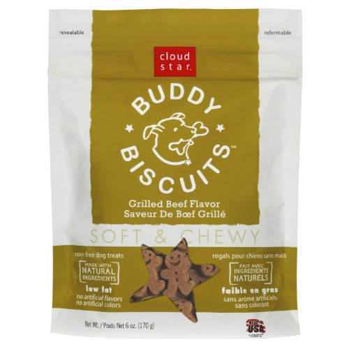 Cloud Star Soft & Chewy Buddy Biscuits Dog Treats,