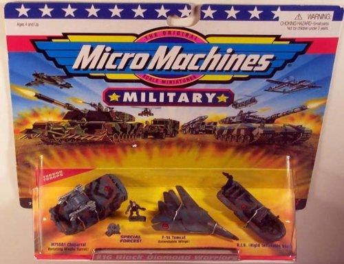 Micro Machines Black Diamond Warriors #16 Military Collection