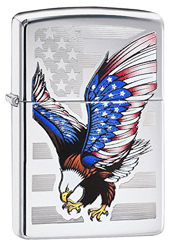 zippo-flag-design-eagle-pocket-lighter-high-polish-chrome