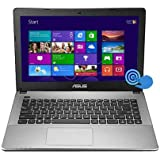 ASUS 90NB0279-M03670 K450CA-BH21T 14 Touch Screen Notebook Intel Pentium 2117U 1.8GHz 4GB DDR3 500GB HDD DVD-Writer...