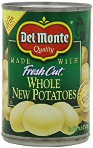 Del Monte Whole New Potatoes, 14.5-Ounce (Pack of 8)