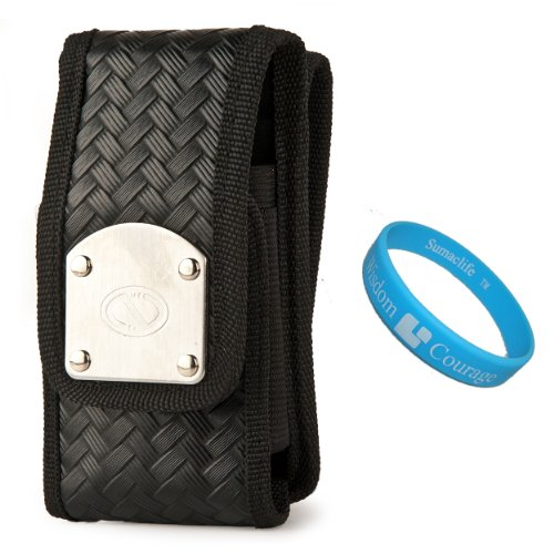 Black Tactical Gladiator Holster Case W/ 2 Belt Clips For Apple Iphone 5C / 5S / 5 Phone