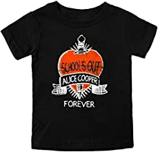 Alice Cooper School39s Out Unisex Child Toddler T-Shirt Black
