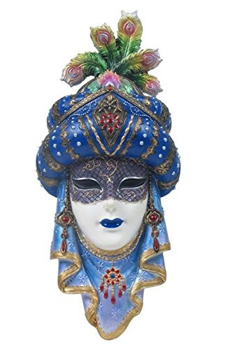 12.5 Inch Arabian Mask Wall Plaque Turban Decor Collectible Gift