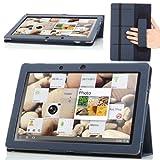 MoKo Slim Cover Case for Lenovo IdeaTab Idea Tab S2110 / S2110A 10.1 inch Tablet, INDIGO