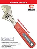 PRO-TECH - RST - 1206S - Premium Quality Professional 8 Inch Adjustable Wrench