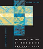 Econometric Analysis of Cross Section and Panel Data, 2nd Edition