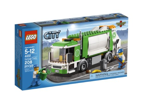 LEGO City Town Garbage Truck 4432 (Lego Truck And Camper compare prices)