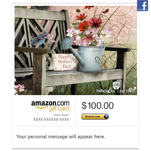 Amazon Gift Card – Facebook – Spring Bouquet for Mom (Animated)