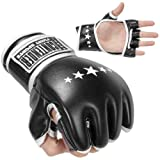 Contender Fight Sports MMA Synthetic Hybrid Training Gloves, Large