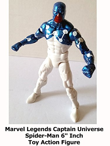 "Review: Marvel Legends Captain Universe Spider-Man 6"" Inch Toy Action Figure"