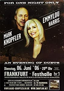 Emmylou Harris One Night Only 2006 - Concert Music Poster Concertposter