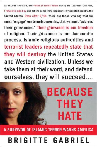 Image for Because They Hate: A Survivor of Islamic Terror Warns America