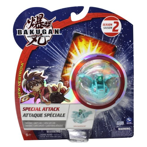 Bakugan Special Attack Spin Ravenoid Color Varies - 1